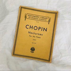 Vintage Accents - Schirmer Set of Chopin Nocturnes